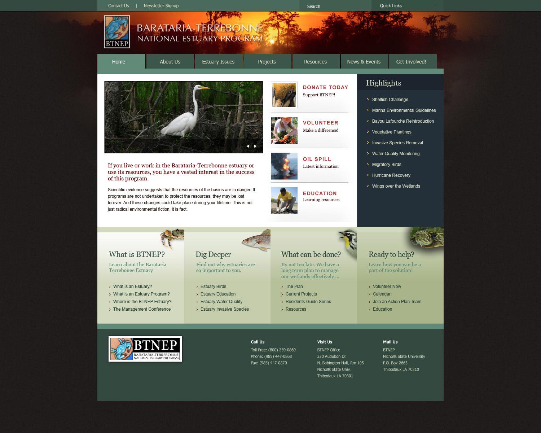website - Barataria-Terrebonne National Estuary Program