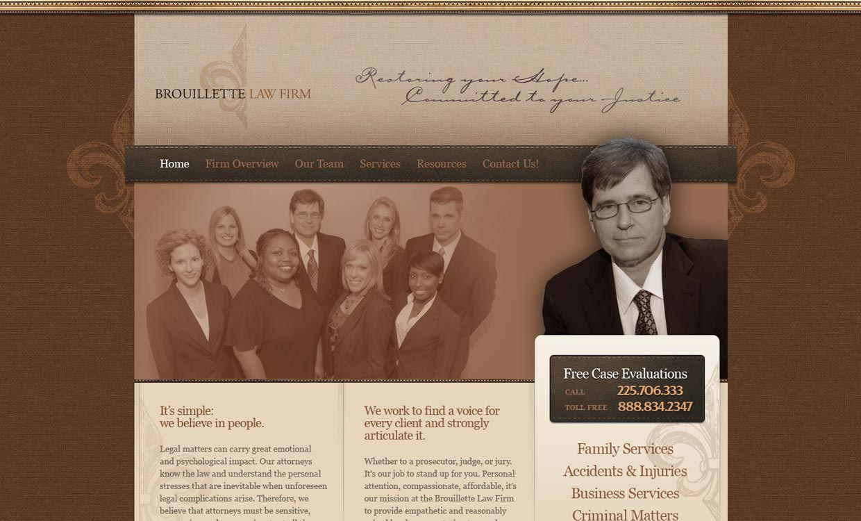 Brouillette Law Firm