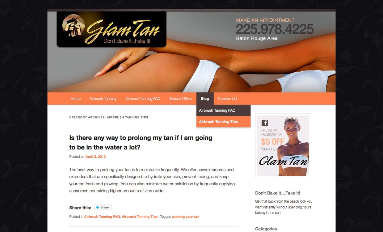 Glam Tan La